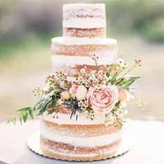 boho wedding cake - Cerca con Google