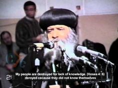 Pope Shenouda III sermon about how to start a new year 1988