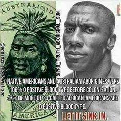 """Get one thing clear, just because some Aborigines are """"blacl"""" doesn't mean Native Americans are. Actually there are a lot of """"black"""" people who aren't even black. Or even close to being African. So let THAT sink in. This photo is bullshit. Black History Month, Black History Facts, Native American History, African American History, Black Pride, We Are The World, My Black Is Beautiful, Black People, Just In Case"""