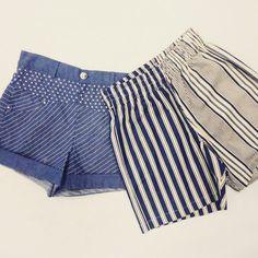 Tallow shorts\Shakuhachi striped shorts  #suitster #store #fashion #style #shorts #Tallow #Shakuhachi