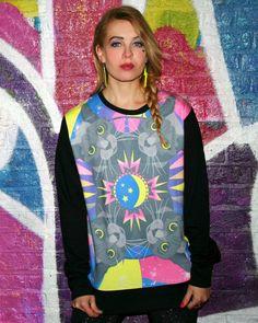 MEOW YOU DOIN'? SWEATER Cat Sweatshirt, Cat Colors, Tie Dye, Unisex, Sweatshirts, Sweaters, Fashion Design, Followers, Shopping