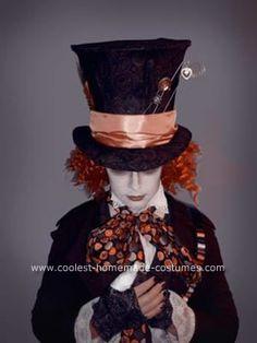 DIY Mad Hatter Halloween Costume & Makeup! skip to 6:30 her ...