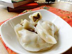 Recettes d'une Chinoise: Raviolis à la vapeur 水晶蒸饺 shuǐ jīng zhēng jiǎo