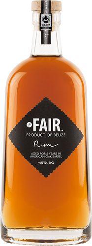 Fair Rum #packaging #label #bottle