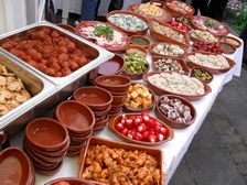 We could do something like Sevilla or use Cazuelas at one....