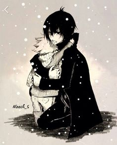 Zeref protect Natsu
