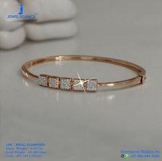 New jewerly bracelets bangles bijoux Ideas Gold Bangle Bracelet, Diamond Bracelets, Jewelry Bracelets, Jewelry Tree, Silver Bracelets, Diamond Jewelry, Gold Bangles Design, Jewelry Design, Gold Fashion