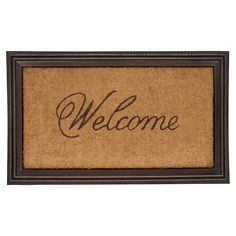 Whitehall Products Essex Coir Welcome Door Mat - 46001