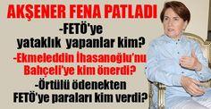 MHP Genel Başkan Adayı Meral Akşener 'Ben FETÖ/PDY konusunda üç ay önce Bolu'da 'iktidar olursak FETÖ VE PKK'ye yardım ve yataklık