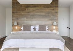 Bedside pendant lights and sconces save up ample space