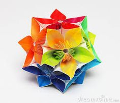 kusudama flower ball - Google Search