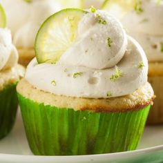 Grandmother's Kitchen margarita cupcake