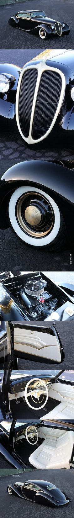 "Metallica's James Hetfield's custom built car, the ""Black Pearl"""