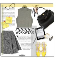Summer Work Wear by fyenksfiona on Polyvore featuring polyvore fashion style Ralph Lauren Kenzo Zara Fendi Chanel Spitfire Disney kenzo zara fendi sleevelesssweater