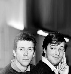 Hugh Laurie & Stephen Fry