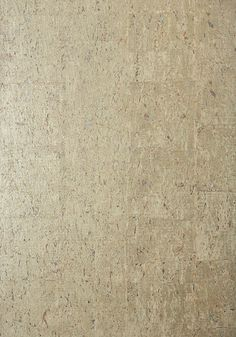 CORK, Metallic Pewter, T83009, Collection Natural Resource 2 from Thibaut