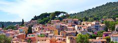 Bormes les Mimosas - Provence, France #provence #france #vieux #village #colorful