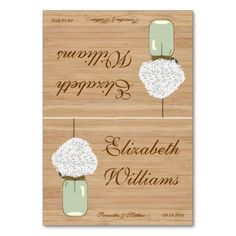 =>>Cheap          Country Rustic Mason Jar Hydrangea Name Place Card Table Card           Country Rustic Mason Jar Hydrangea Name Place Card Table Card in each seller & make purchase online for cheap. Choose the best price and best promotion as you thing Secure Checkout you can trust Buy bestR...Cleck Hot Deals >>> http://www.zazzle.com/country_rustic_mason_jar_hydrangea_name_place_card_table_card-256882514994372609?rf=238627982471231924&zbar=1&tc=terrest