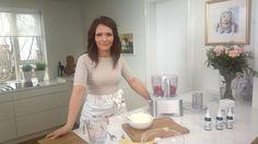 Ebba @ her kitchen