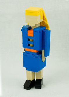 She Knew She Needed To Build A Stronger Resume... So She Made One Out Of LEGOS - Distractify.com