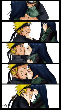 naruto and hinata fan art - Google Search