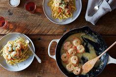 Spiced Shrimp in Lemon-Ginger Sauce recipe: A killer summer combo. #food52