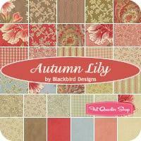 Autumn Lily Fat Quarter BundleBlackbird Designs for Moda Fabrics