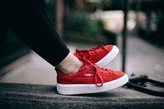 'Tis the season of the suede street sneaker