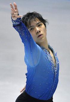 男子シングル・ショートプログラムで唯一、100点を超えた宇野昌磨の演技=東京・代々木競技場で2017年4月20日、手塚耕一郎撮影