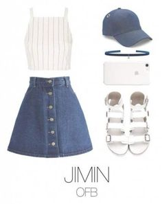 36 Ideas Fitness Outfits Shorts Jeans When you go to the gym, it's important to wear clothes that are breathable Kpop Fashion Outfits, Korean Outfits, Mode Outfits, Girl Outfits, Teenager Outfits, Outfits For Teens, Look Fashion, Korean Fashion, Unique Fashion