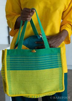 Unique, handwoven bags by Barefoot
