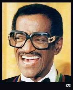 Sammy Davis Jr in Cazal 623. #Vintage