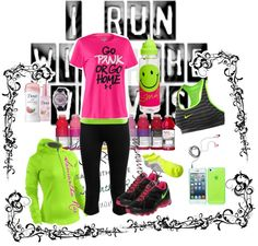 """I RUN"" by samantha-edlin on Polyvore"