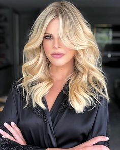 Belage Hair, Hair Day, Balayage Blond, Blonde Highlights, Medium Hair Styles, Curly Hair Styles, Gorgeous Hair, Hair Looks, Hair Trends