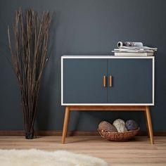 Vintage Retro Side Board Wooden Cabinet Wood Mid Century Modern Hallway Storage | eBay