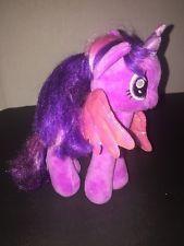 "My Little Pony Twilight Sparkle 8"" Plush Purple MLP Unicorn Wings"