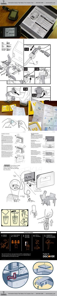 VISUAL INSTRUCTIONS & USER GUIDES on Behance