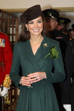 Kate Middleton Photo - The Duchess Of Cambridge Visits The Irish Guards On Their St Patrick's Day Parade