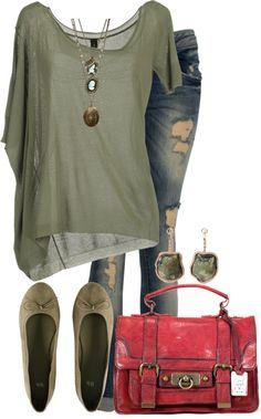 c6351d7e4 Pohodlné Oblečenie, Neformálne Leto, Jar 2015, Roztrhané Džínsy, Trendové  Outfity, Neformálne