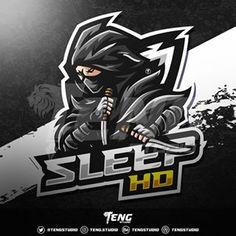 Team Logo Design, Mascot Design, Logo Dragon, Knight Logo, Dm Instagram, Ninja Art, Youtube Logo, Esports Logo, Great Logos