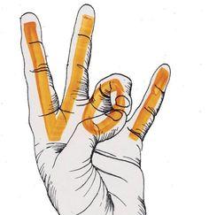 Vols new hand sign