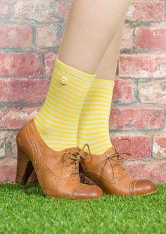 Quirky stripped socks! debeersdesign.com