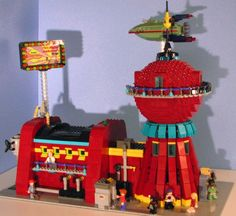 Futurama – Planet Express in Lego