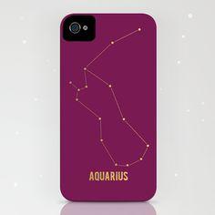 Aquarius iPhone (4S, 4) Case