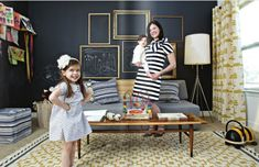 Magnetfarbe Kinderzimmer Bilderrahmen Tafelfarbe