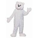 Deluxe Plush Polar Bear Mascot