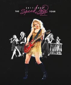 Speak Now Tour <3 2011-2012 Taylor Swift Speak Now, Red Taylor, Taylor Alison Swift, Swift Tour, Swift 3, Taylor Swift Posters, Tour Posters, Funny Short Videos, Her Music