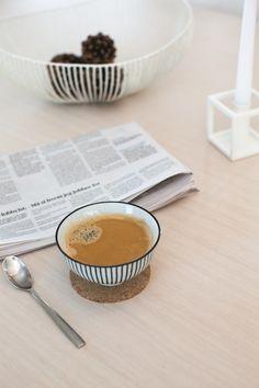 Coffee time. BOEN Parkett.