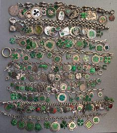 eCharmony Charm Bracelet Collection - Shamrock Hoarding