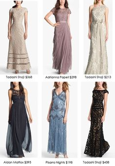 Blog with tips for finding a vintage Mother of the Bride Dress